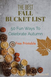 the best fall bucket list