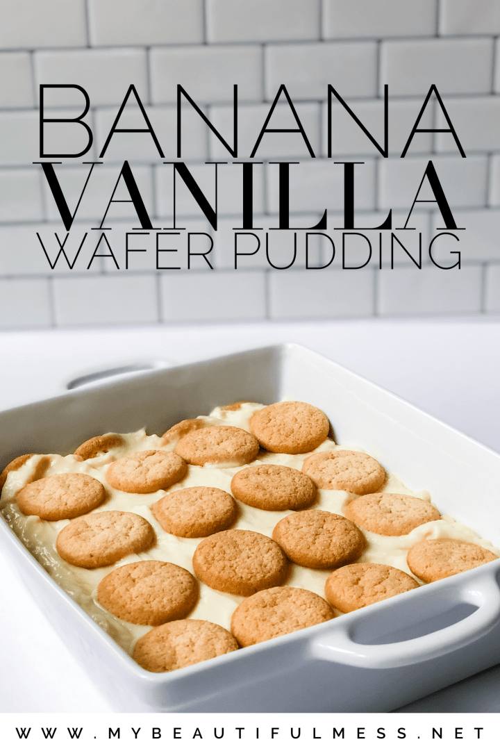 Banana Vanilla Wafer Pudding