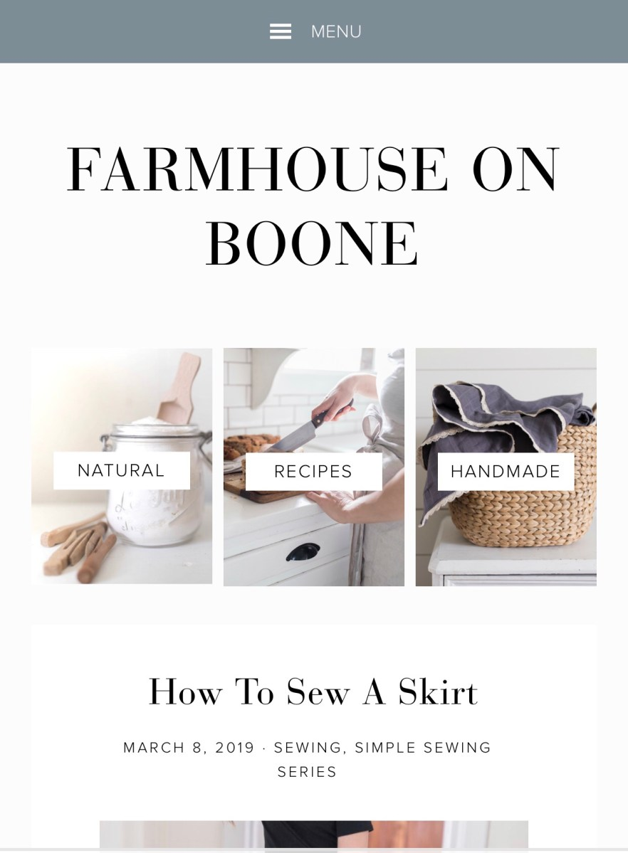 Farmhouse on Boone