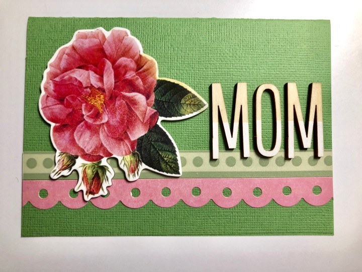 Super easy Mother's Day card
