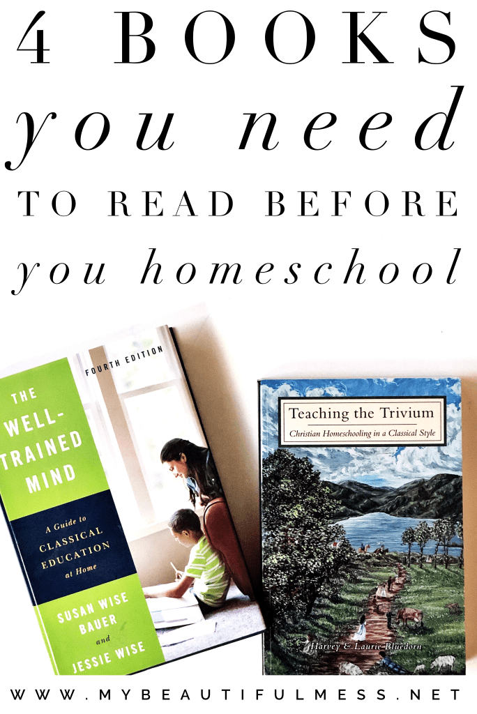 4 books you need to read before you homeschool