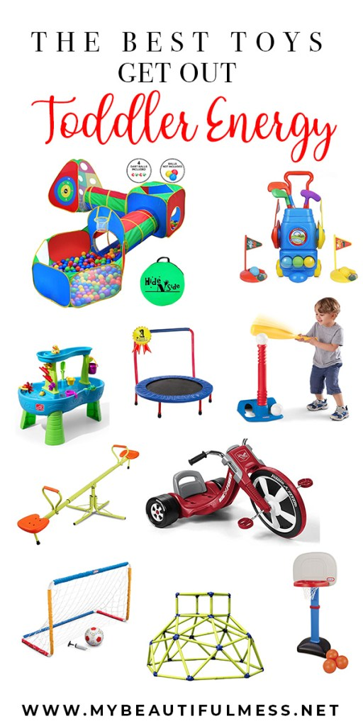 the best toys to get out toddler energy