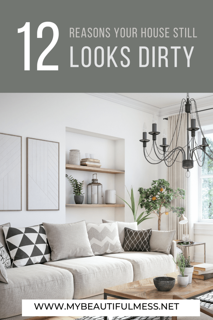 12 reasons your houses still look dirty