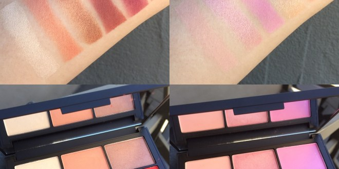 NARS Unfiltered I and Unfiltered II Blush Palette Review and Swatches