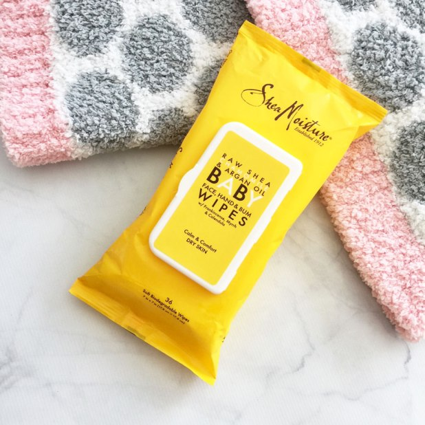 SheaMoisture Baby wipes review by My Beauty Bunny