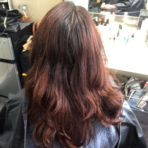Before Hair Color