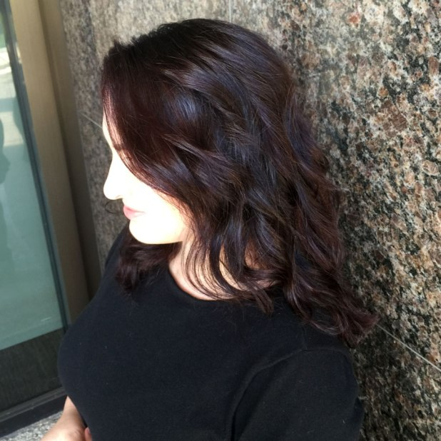 Cool Red Hair Style