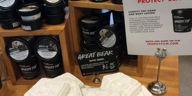 Great Bear LUSH Bath Bomb