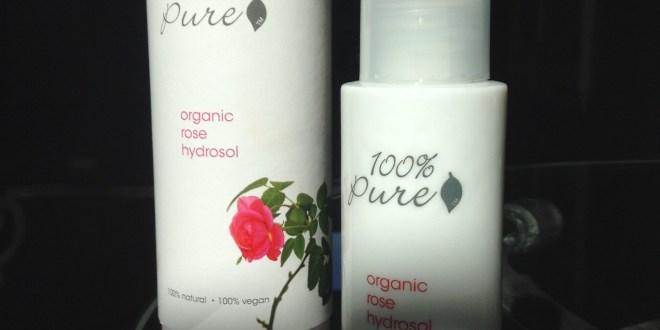 100 percent pure organic rose hydrasol