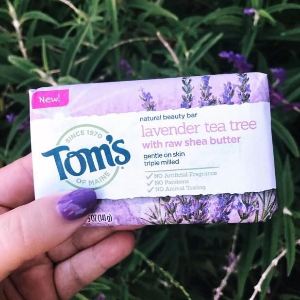 Toms of Maine Lavender Tea Tree Beauty Bar