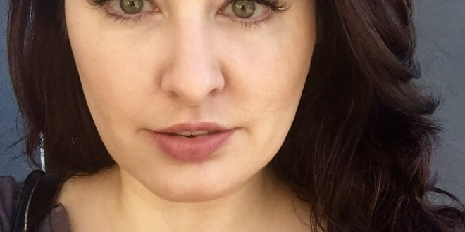 Every day makeup look with lash extensions
