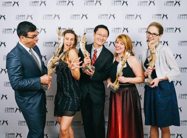 LUSH Prize Winners 2016
