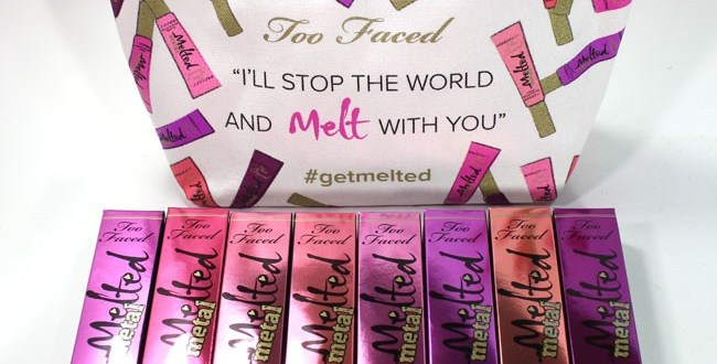 Too Faced Metallic Melted Lipstick