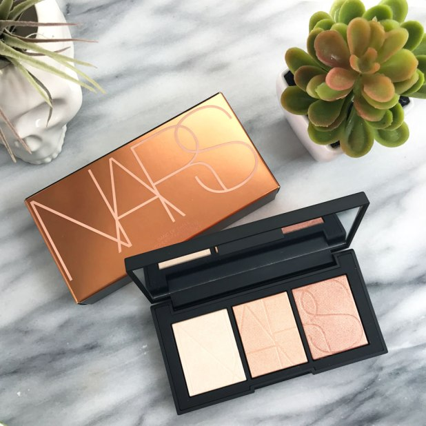 NARS Banc de Sable Highlighter Palette Review