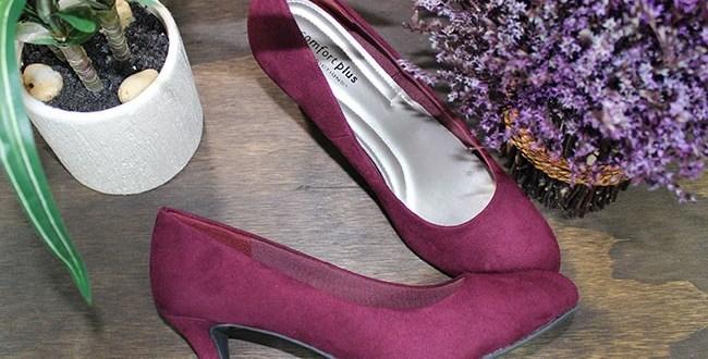 Payless purple pumps