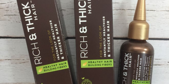 Rich and Thick Hair Organic Brilliance