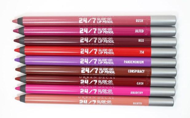 Urban Decay Vice Lip Pencils