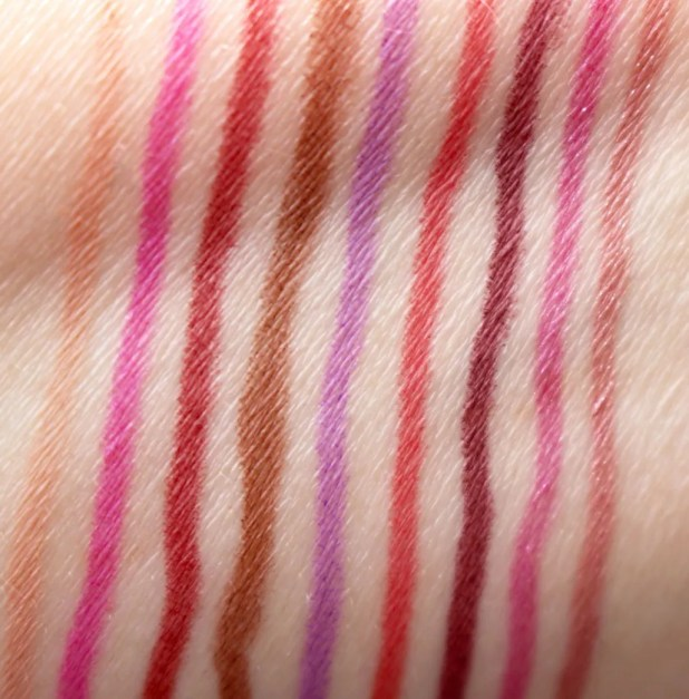 Urban Decay Vice Lip Pencil Swatches