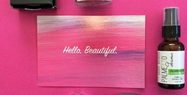 Laritzy Cruelty Free Beauty Box - November 2015 review by my beauty bunny