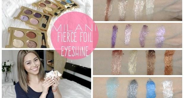 milani fierce foil eyeshine my beauty bunny