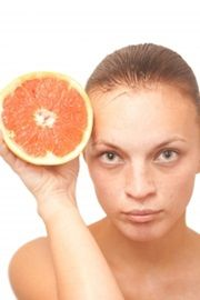 fresh fruit to get rid of forehead wrinkles naturally