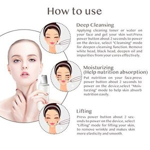 Facial Tighten Therapy Sonic Skin Cleaner