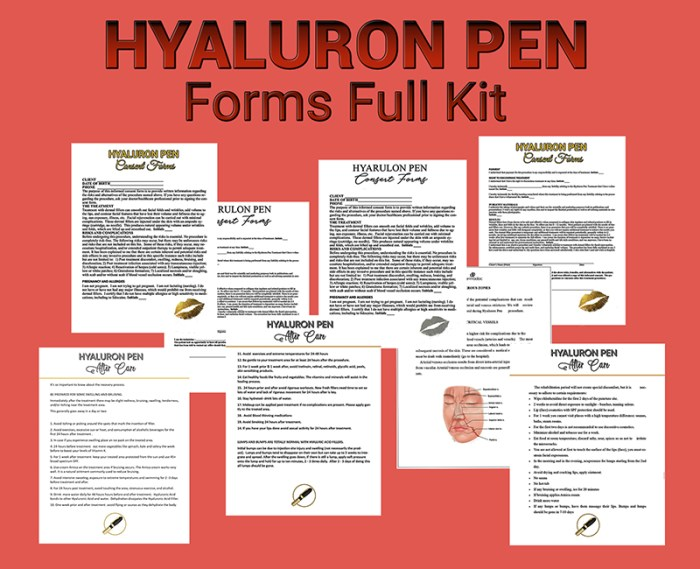 best full kit hyaluron pen treatments and after treatments