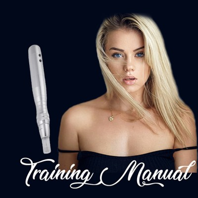 best microneedling training manual book for students