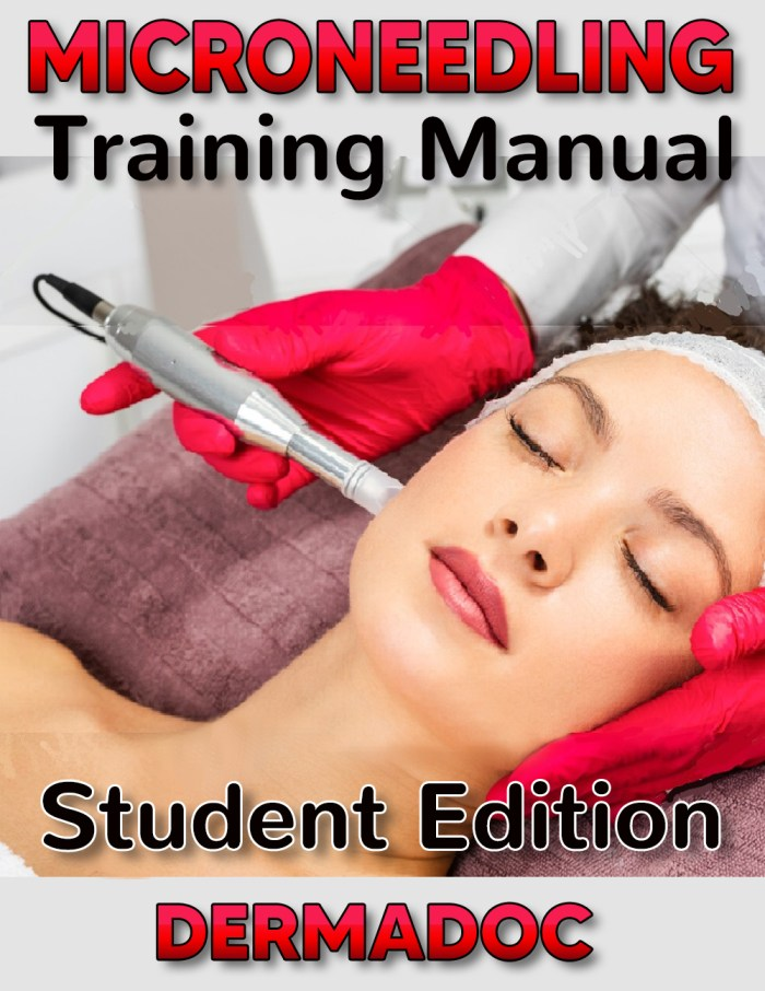 Microneedling for beginners, student edition