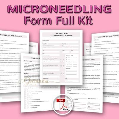 Microneedling form best USA Full Kit Salon Form
