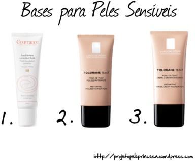 Bases para Peles Sensíveis