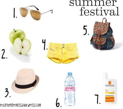 Summer Festival Essentials