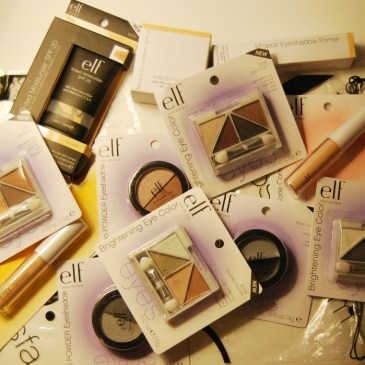 elf cosmetics : ma première commande