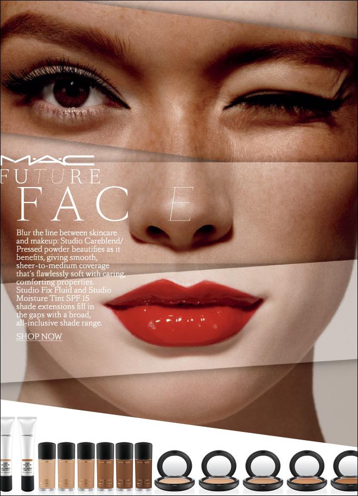 Nouveau: MAC Future Face