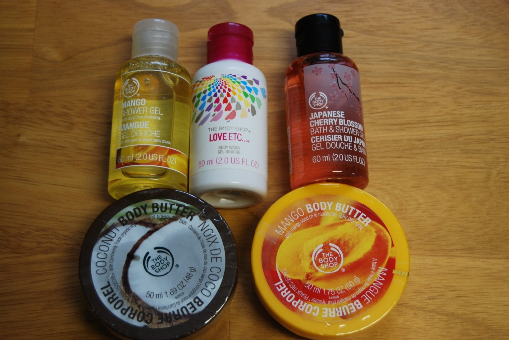 The Body Shop : mini butin