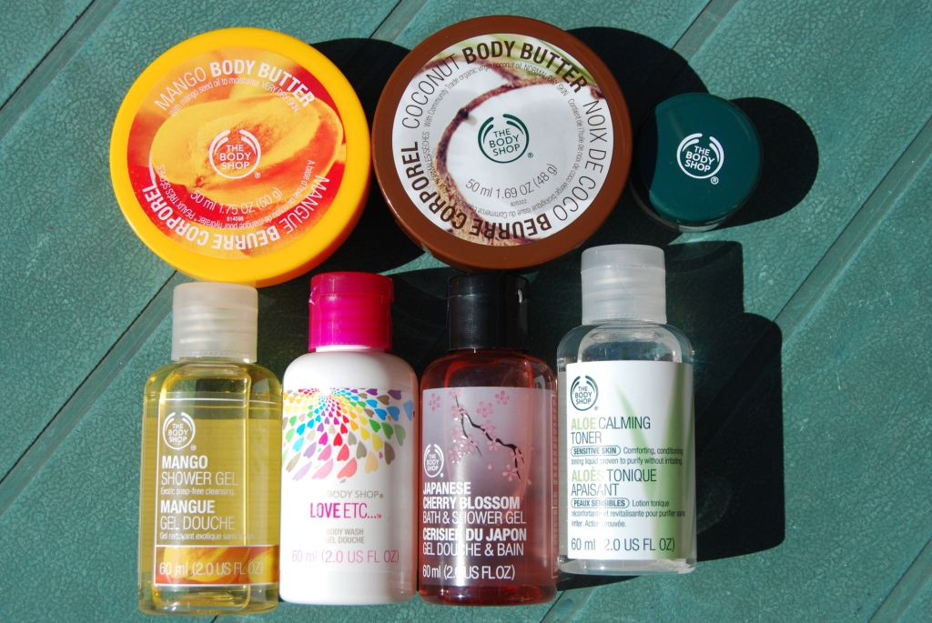 The Body Shop… tests 1/2