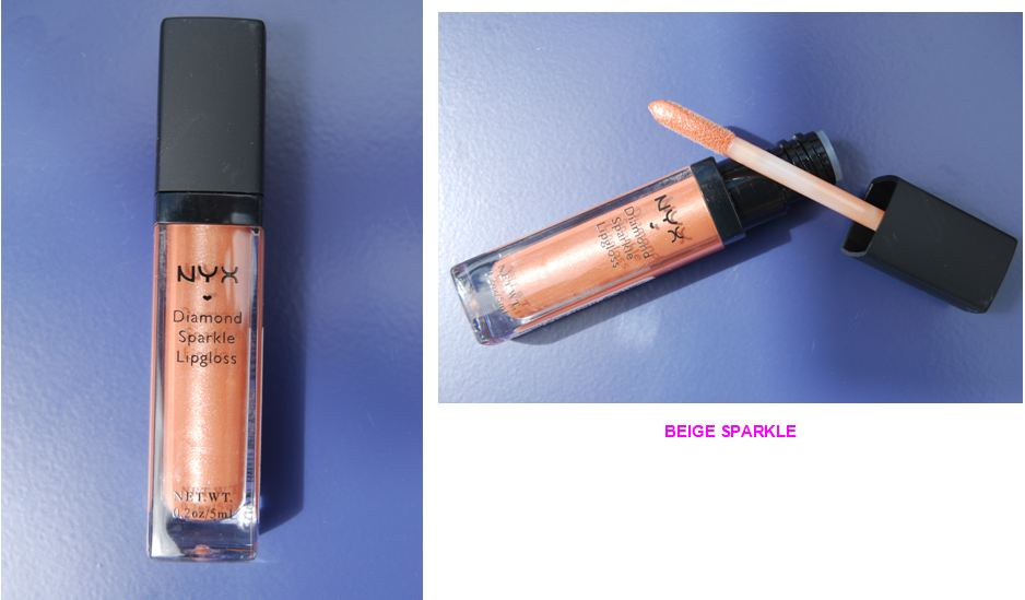 NYX Diamond Sparkle Lipgloss