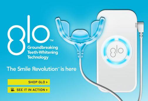 Nouveau : Blanchiment des dents avec GLO