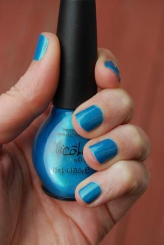 Mon vernis bleu : Nicole by OPI Blue Lace