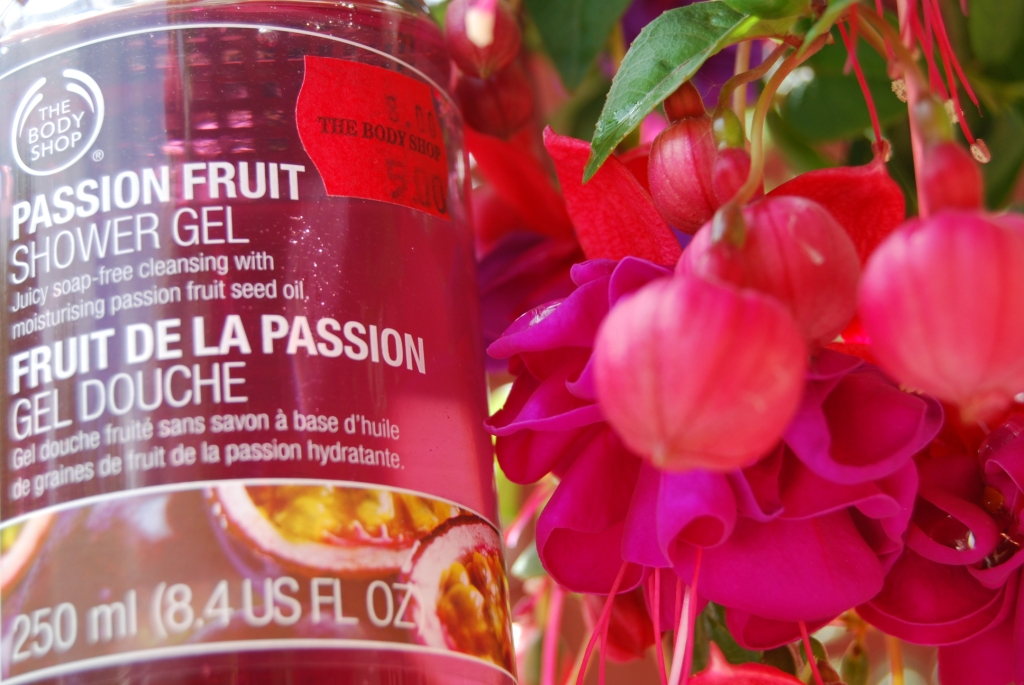 TBS gel douche fruit de la passion