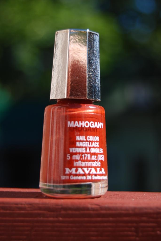 MAVALA Mahogany, mes ongles rouillent encore!