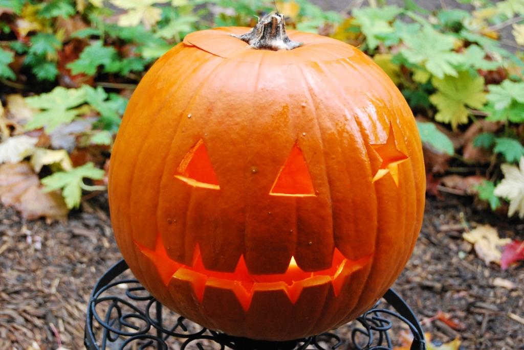 Halloween pumpkin [Jack O'Lantern DIY]