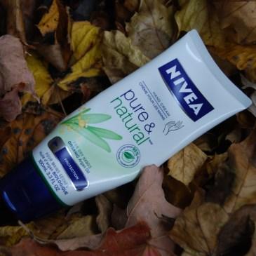 Nivéa crème mains Pure & Natural