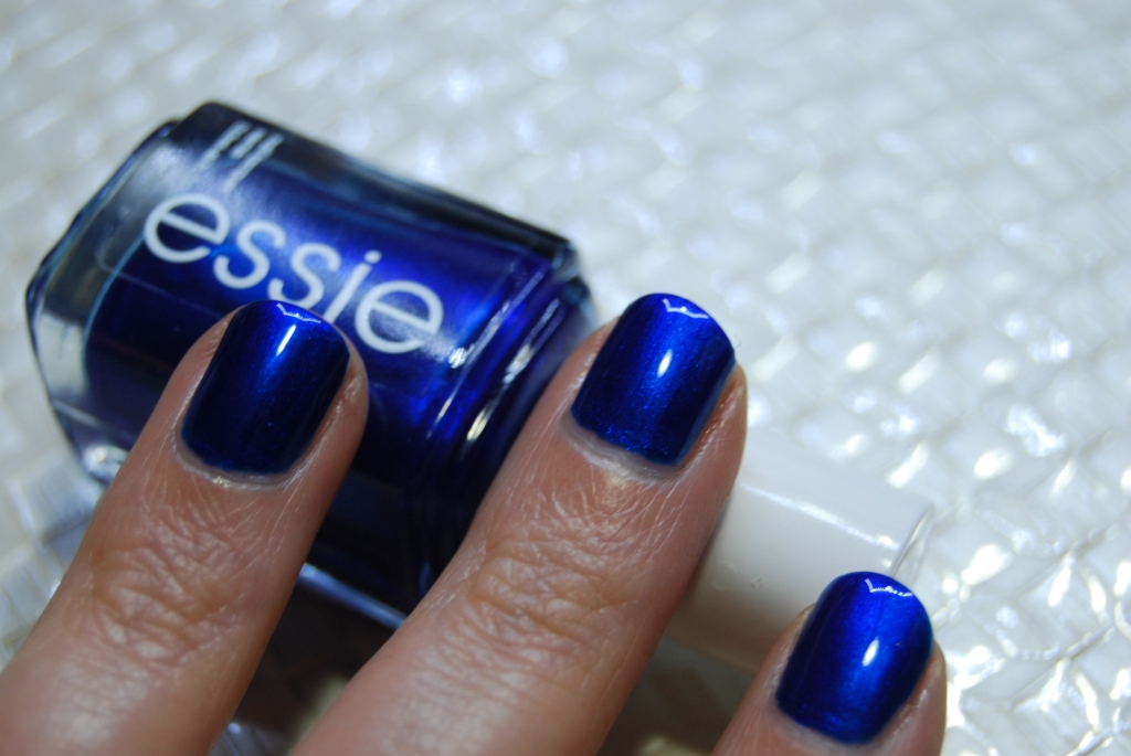 Nail blues [défi du lundi relevé!]