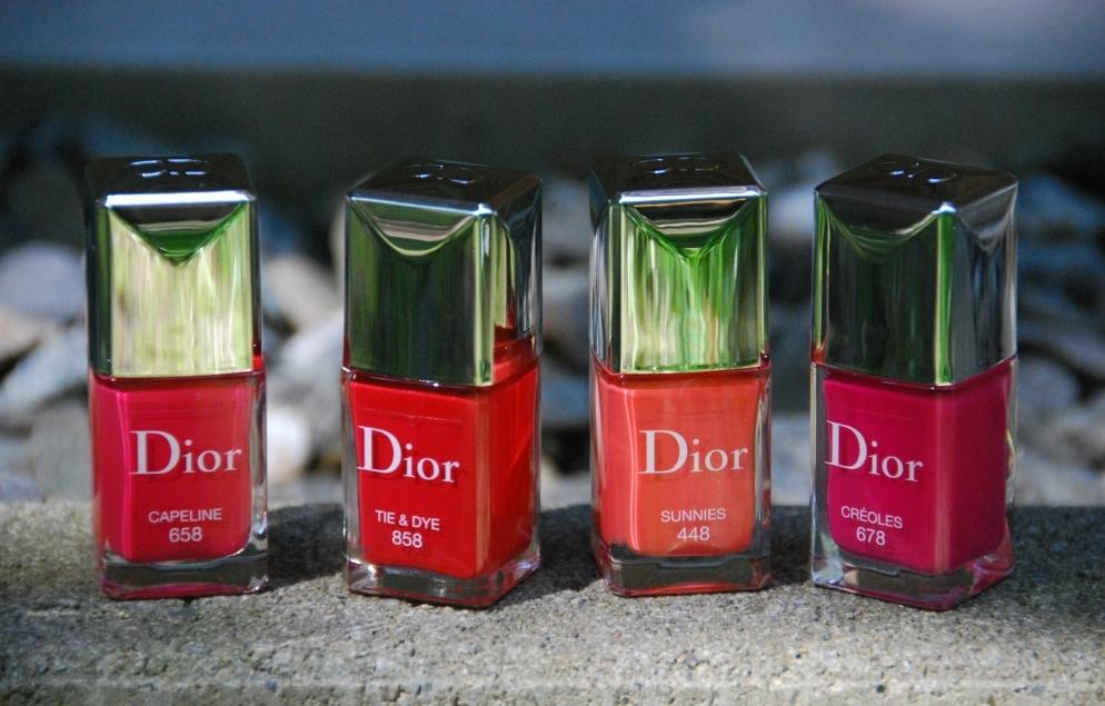 Dior Summer Mix, les vernis de l'été