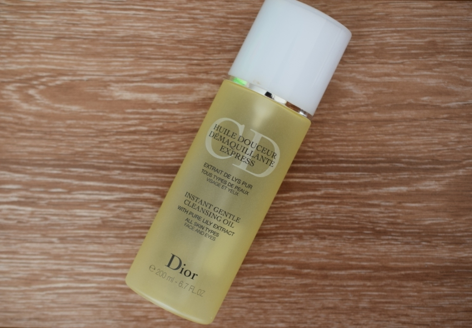 RIP 27 2 Dior cleansing oil