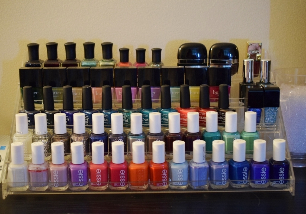 20140707 rangement vernis 2 rack essie my beauty qu bec. Black Bedroom Furniture Sets. Home Design Ideas