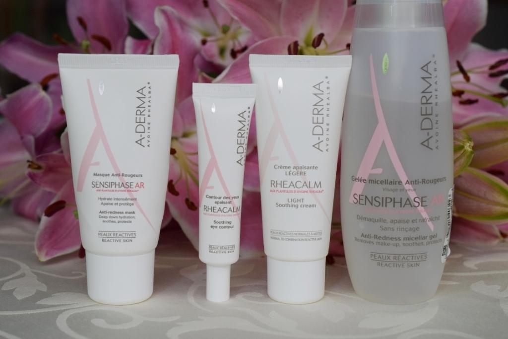 A-DERMA Sensiphase AR et Rhéacalm : soins pour peaux sensibles