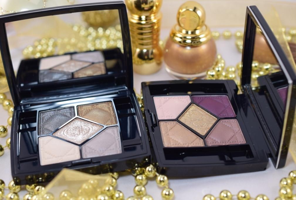 Dior Golden Shock palettes 1