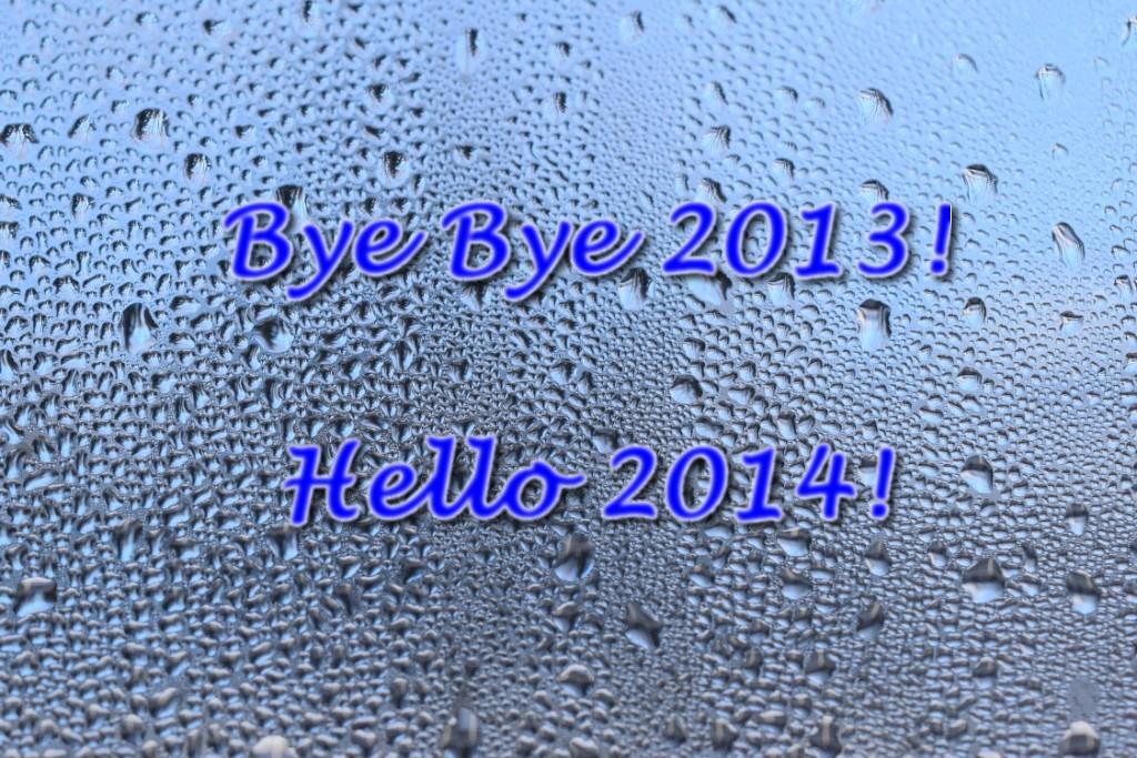 Bye Bye 2013, Hello 2014!